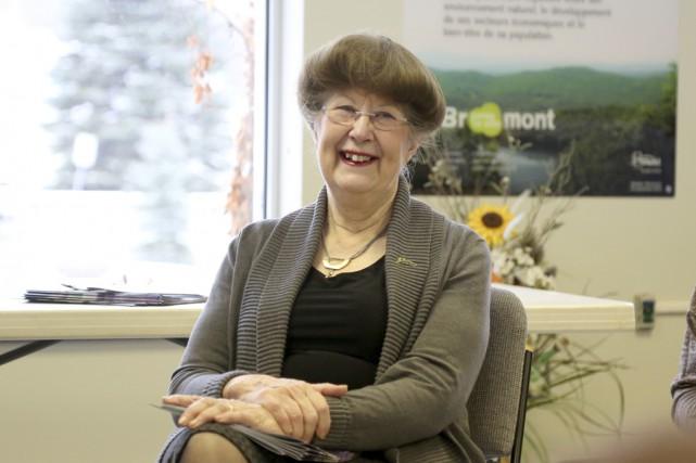 La mairesse de Bromont, Pauline Quinlan, a appris... (Photo Julie Catudal)