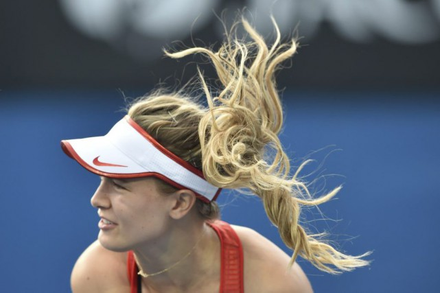 Eugenie Bouchard... (PHOTO PETER PARKS, AGENCE FRANCE-PRESSE)