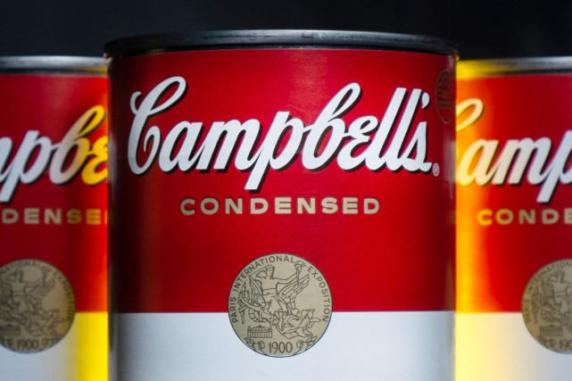 Campbell est la première multinationale de l'industrie agroalimentaire... (PHOTO ARCHIVES AP)