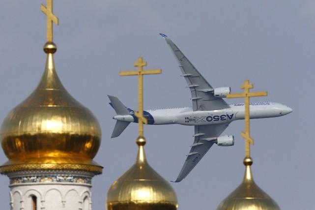 Airbus a investi quelque 15milliards dans son tout... (PHOTO MAXIM ZMEYEV, REUTERS)