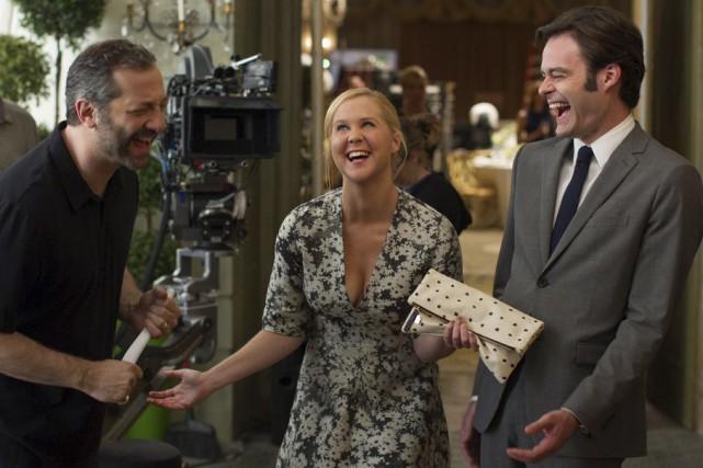 Amy Quinn (Amy Schumer) dans Trainwreck.... (IMAGE TIRÉE DU FILM)