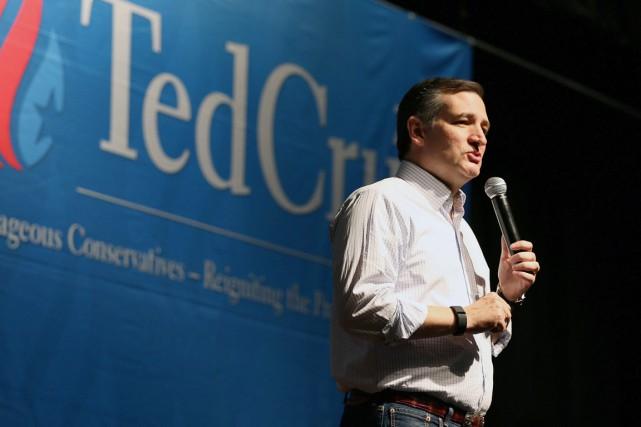 Le candidat à l'investiture républicaine Ted Cruz, à... (PHOTO MIKE KITTRELL, ARCHIVES AP)