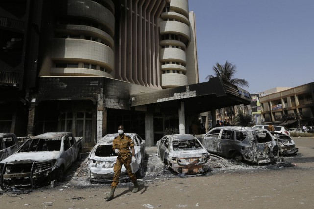 L'attentat survenu au Burkina Faso mettra un frein au projet du Carrefour de... (Photo AP)