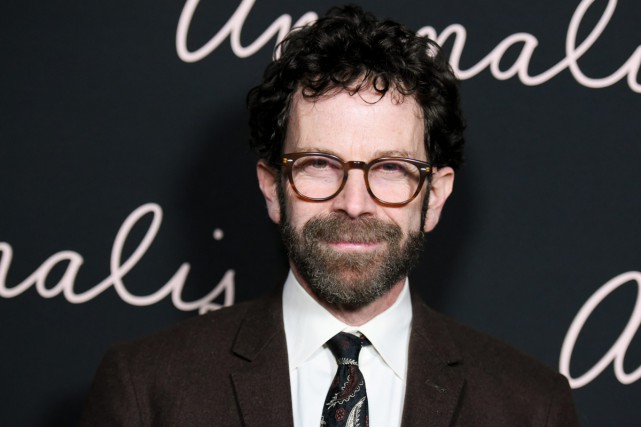Charlie Kaufman lors de la projection d'Anomalisa à... (PHOTO ARCHIVES AP)