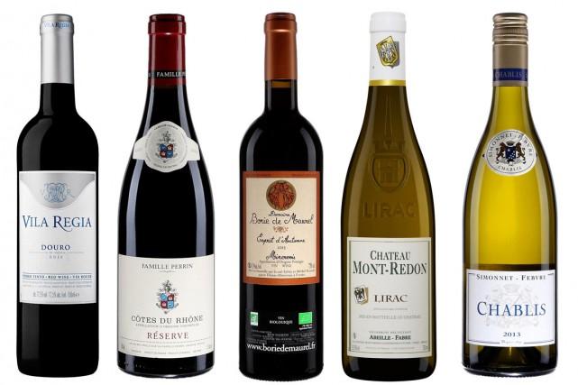 Les vins de la semaine, dégustés par notre... (PHOTOS FOURNIES PAR LA SAQ)
