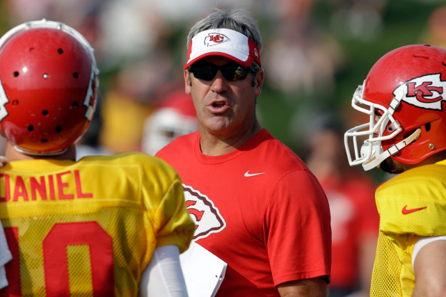 Doug Pederson était le coordonnateur offensif des Chiefs de... (Photo Orlin Wagner, archives AP)