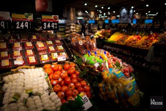 Les prix des légumes frais ont augmenté de... (PHOTO ANDRÉ PICHETTE, ARCHIVES LA PRESSE)
