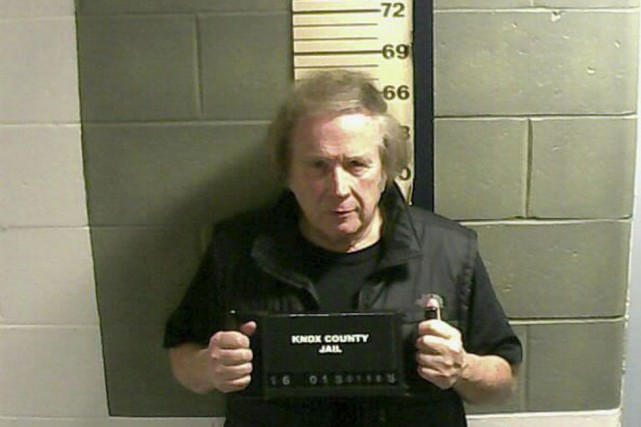 Don McLean à la prison du comté de... (PHOTO AP)