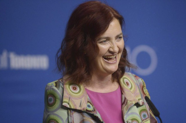 Emma Donoghue au Festival de Toronto en septembre... (PHOTO ARCHIVES LA PRESSE CANADIENNE)