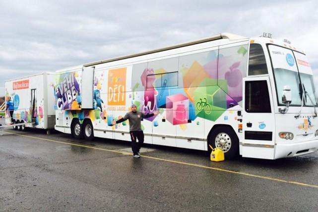Les 260 élèves de l'école LaRocque de Sherbrooke attendent de la grande visite... (Photo tirée de Facebook)