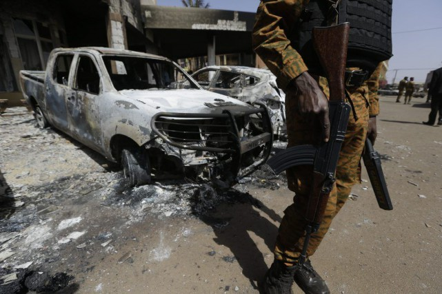 Les mesures de sécurité ont été renforcées dans... (Sunday Alamba)