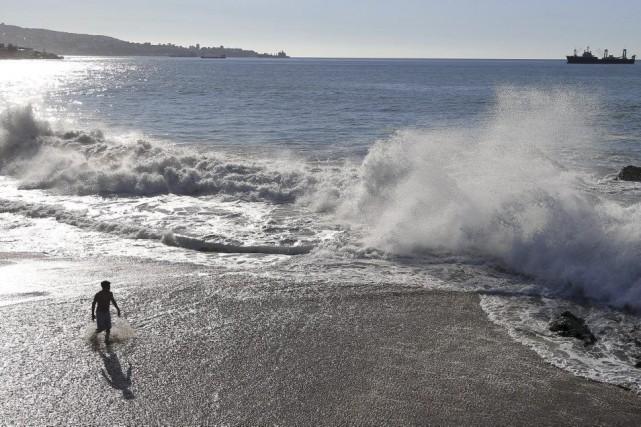 Selon cettenouvelle étude, depuis 1997, les océans ont... (PHOTO RODRIGO GARRIDO, REUTERS)