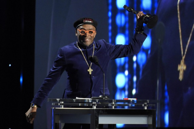 Spike Lee a obtenu un Oscar honorifique le... (PHOTO AP)
