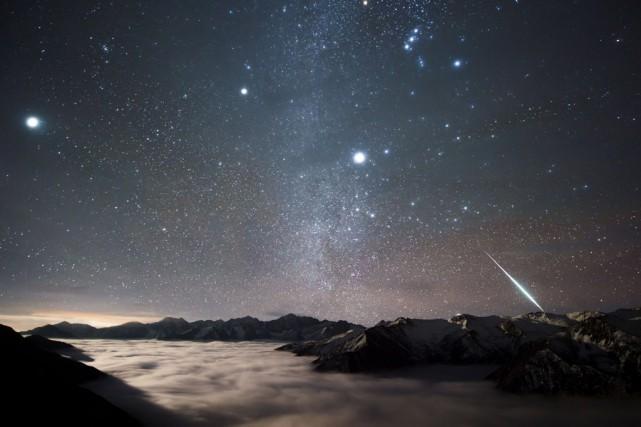 Certains croient que notre intelligence pourrait provenir en... (PHOTO ALVIN WU, ARCHIVES NASA)