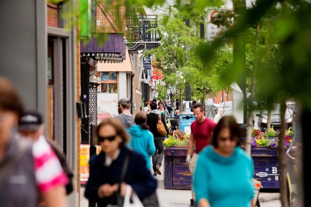 «Le nombre de Français à Montréal a atteint... (Photo Alain Roberge, archives La Presse)