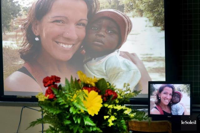 Maude Carrier a été tuée vendredi dernier dans... (PHOTO JEAN-MARIE VILLENEUVE, ARCHIVES LE SOLEIL)