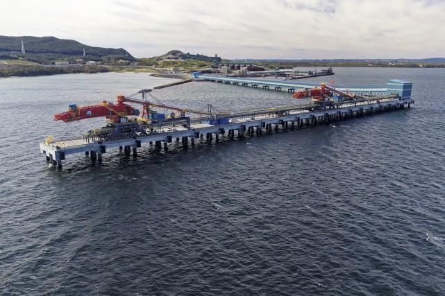 L'année 2016 devrait rimer avec la mise en... (Fournie par le Port de Sept-Îles)