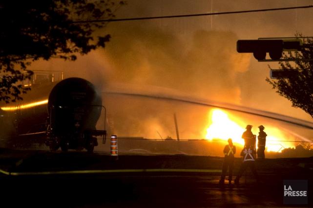 Durement touchée par la tragédie ferroviaire de juillet... (La Presse)