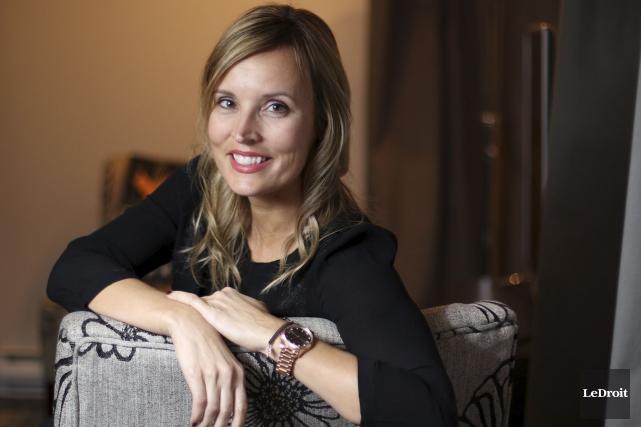Geneviève Turcot est scénariste-conceptrice de l'émission Garde-Manger sur... (Patrick Woodbury, LeDroit)