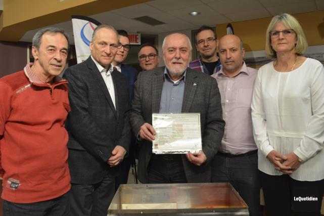 Le conseil municipal de Saint-Félicien a scellé le... (Photo Le Quotidien, Louis Potvin)