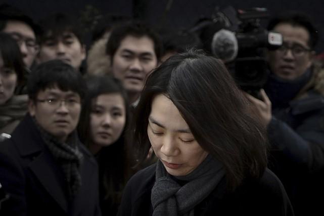 Cho Hyun-Ah avait été reconnue coupable d'avoir enfreint... (ARCHIVES REUTERS)