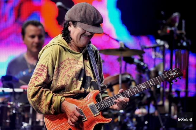 Le nouvel album de Carlos Santana sera le... (Photothèque Le Soleil, Patrice Laroche)
