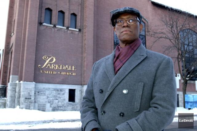 Le révérend Dr Anthony Bailey a fait fi... (Patrick Woodbury, LeDroit)