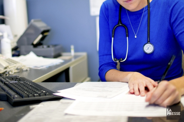 Comme l'ensemble du Québec, l'Outaouais a vu son nombre de médecins croître en... (Archives, La Presse)