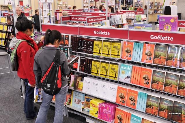 Changement de garde en vue au Salon du livre de l'Estrie : le conseil... (Archives La Tribune)