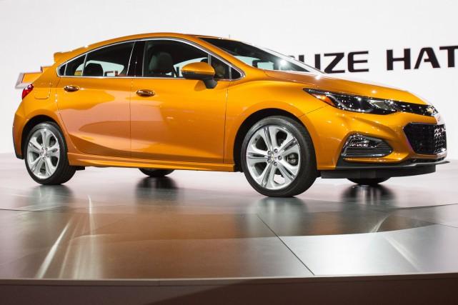 La Chevrolet Cruze à hayon sera mise en... (PHOTO GEOFF ROBINS, AFP)