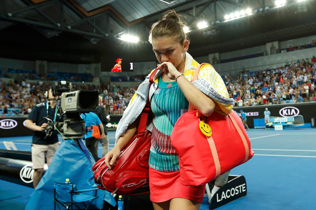 La numéro 2 mondiale Simona Halep a été... (Photo Jason Reed, Reuters)