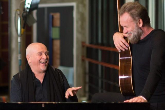 Peter Gabriel et Sting... (PHOTO AP)