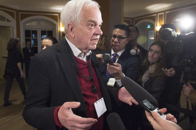 John McCallum... (PHOTO ANDREW VAUGHAN, LA PRESSE CANADIENNE)