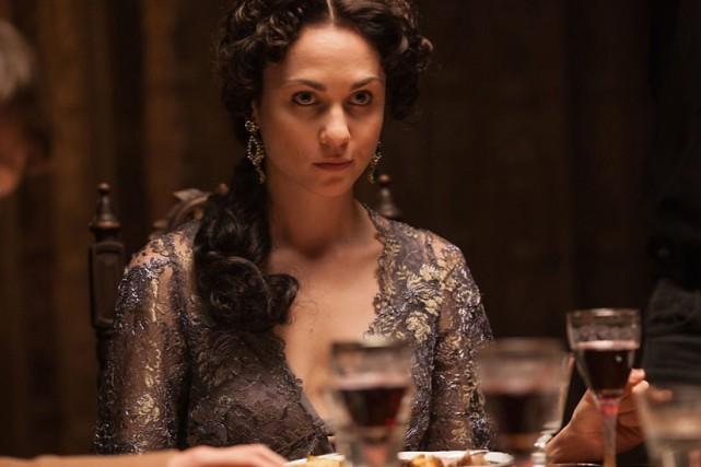 L'un des principaux personnages féminins, la princesse Hélène... (PHOTO BBC)