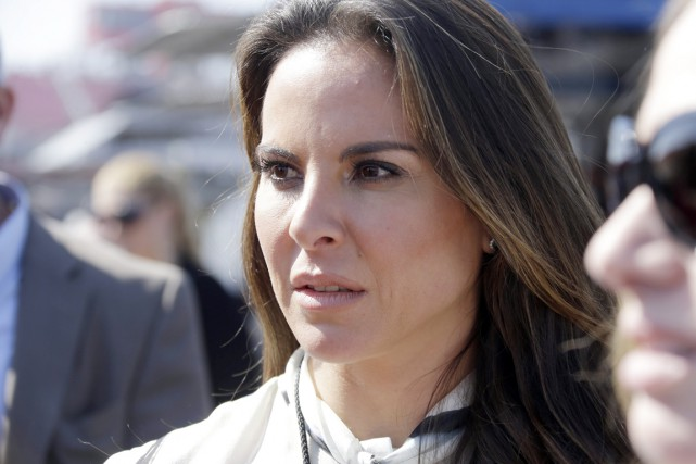 Kate del Castillo, une Mexicano-Américaine de 43 ans,... (PHOTO REED SAXON, ARCHIVES AP)