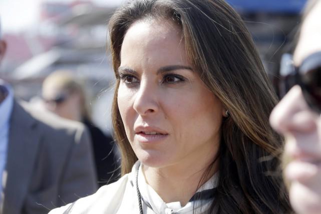 Kate del Castillo, une Mexicano-Américaine de 43 ans,... (PHOTO REED SAXON, ARCHIVES AP)
