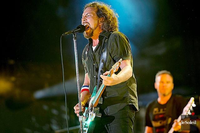 Pearl Jam... (Photothèque Le Soleil)