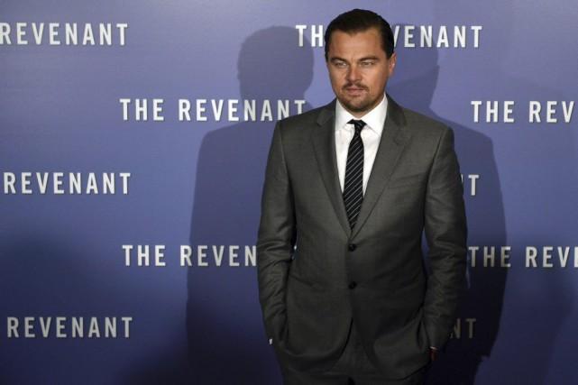 Leonardo DiCaprio à la première du film The... (PHOTO AFP)