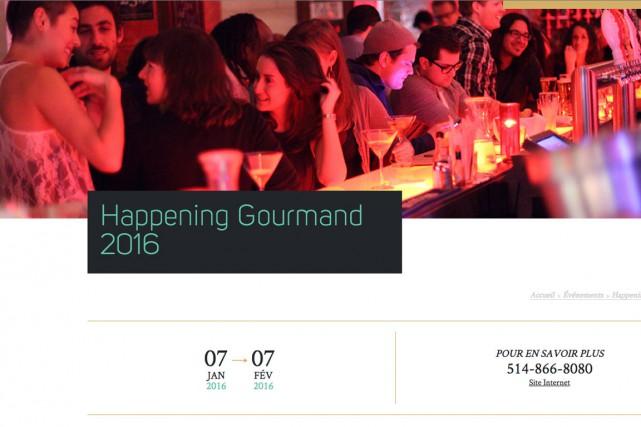 Le Happening Gourmand se tient dans le Vieux-Montréal,... (PHOTO TIRÉE DU SITE DE L'HAPPENING GOURMAND)