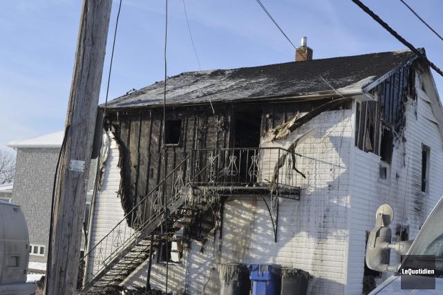 C'est un feu de cuisson qui a déclenché... ((Photo Le Quotidien Louis Potvin))