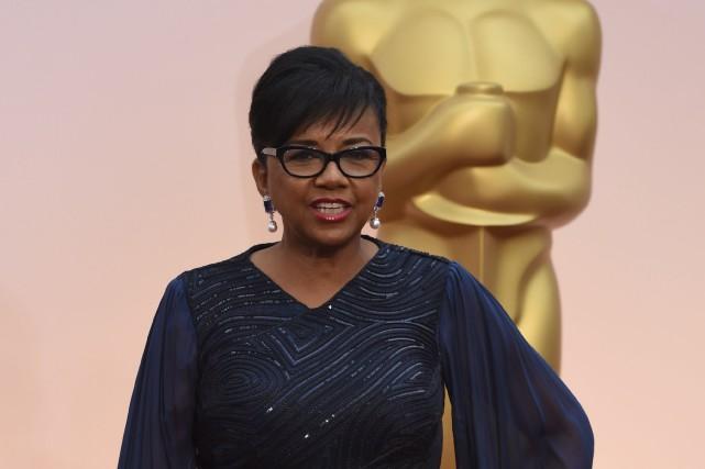 La présidente de l'académie, Cheryl Boone Isaacs... (Archives, Agence France-Presse)