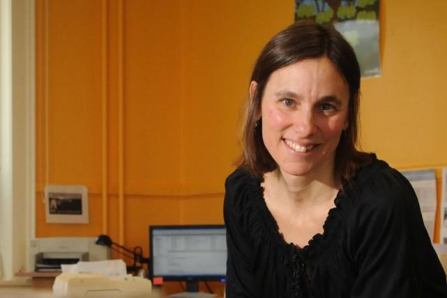 Joanne Blais est la directrice de la Table... (François Gervais)