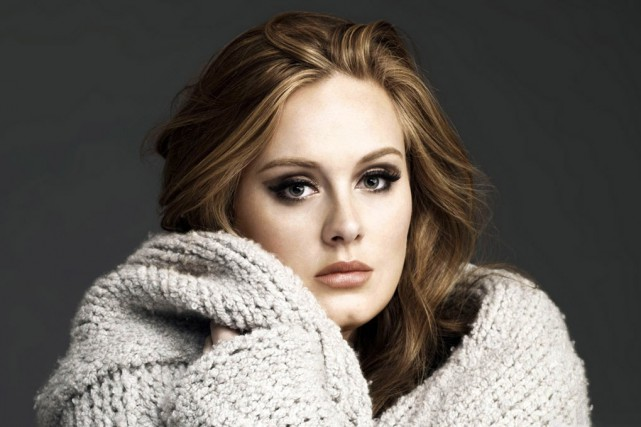 La diva britannique Adele... (PHOTO ARCHIVES AP)