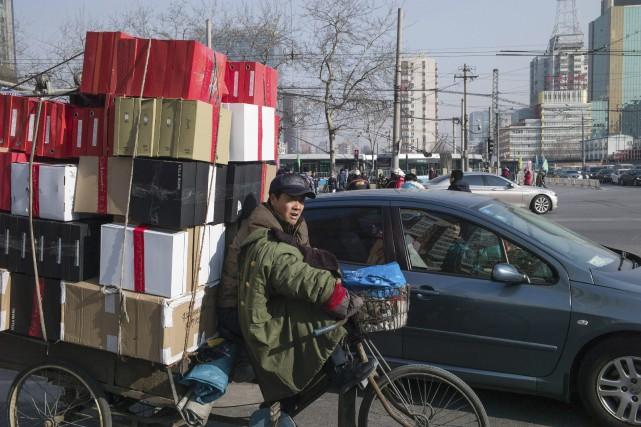 Le ralentissement économique en Chine engendre des dégâts... (AFP, Fred Dufour)