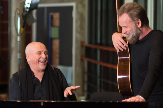 Peter Gabriel et Sting ont mis sur pied... (Associated Press)