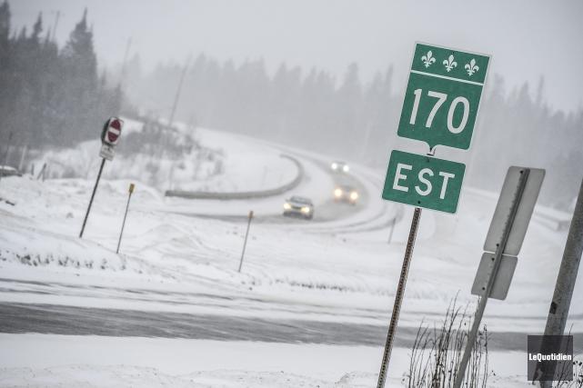 Le dernier tronçon de l'autoroute 70, qui devait... (Archives Le Quotidien, Gimmy Desbiens)