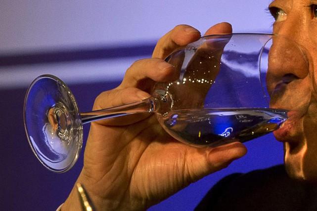 La Corée du Nord a mis au point un alcool à plus de 30 degrés dont il est... (Photo archives AP)
