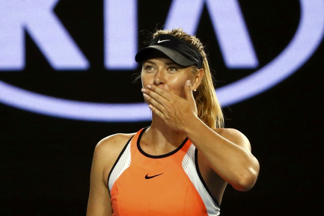 Maria Sharapova... (PHOTO REUTERS)