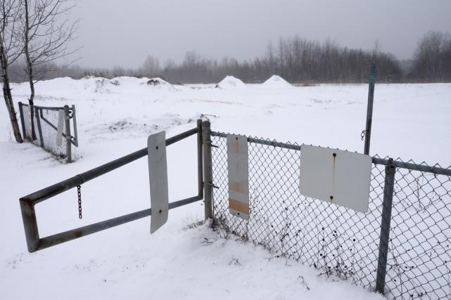 Le site à neige usée de la Ville... (Alain Dion)
