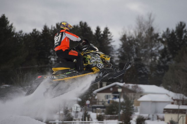 Le nouveau circuit de l'International Snocross se trouve... (Stéphane Lessard)